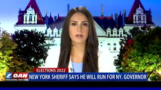 New York Sheriff says he will run for N.Y. Governor