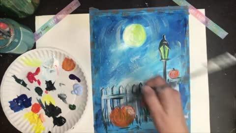 October Paint Night