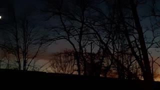 Very beautiful sunset imo