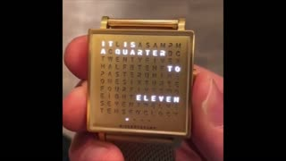 Have You Watched This Different Watch? Only TEXT DISPLAY !!
