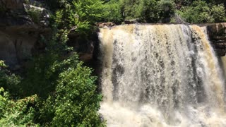 Blackwater falls Davis West Virginia