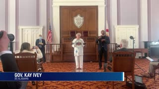 Alabama Governor Kay Ivey Latest To Announce End To Statewide Mask Mandate