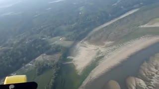 1000 Foot Flight in a Powered Parachute