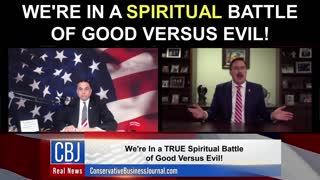 My Pillow CEO and Founder Mike Lindell Shares how We're in a SPIRITUAL Battle of Good Versus Evil!