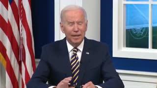 Joe Biden talks about climate change...😂😂😂