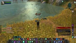 World of Warcraft Classic Doing Druid Stuff Fishing