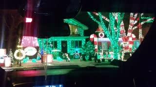 Local house Christmas