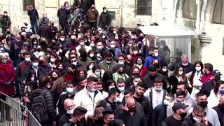 Christians mark Good Friday in Jerusalem