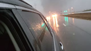 Man has a Close Call with a Tornado in Mississippi