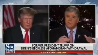 Trump Rips Biden on Afghanistan: 'Our Country Has Never Been so Humiliated'.!!!