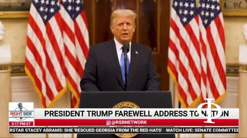 L'arrivederci di Donald J Trump del 19 gennaio 2021