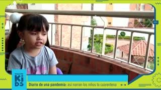 Esto nos dijeron los niños sobre su #DiarioDeUnaCuarentena