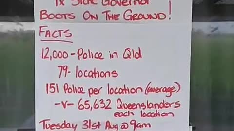 Queensland we fear nothing these are the numbers 29052021