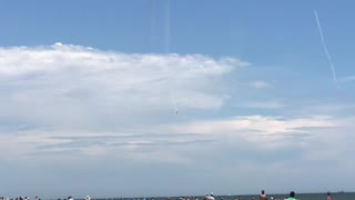 Air Show at Ocean City!