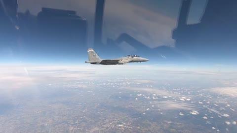 F-15EX Arrival at Eglin