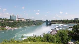 An amazing and wonderful view of Niagara Falls