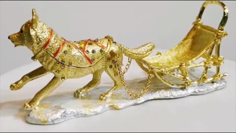 Beautiful Siberian Husky Love Small Jewellery Box