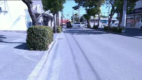 Bike riding in Ishigaki city