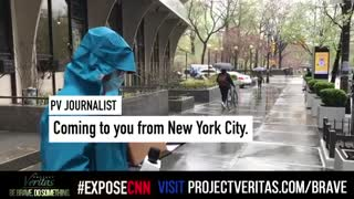 CNN's Brian Stelter Confronted by Project Veritas Journalist