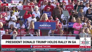 Rep. Marjorie Taylor Greene FULL SPEECH at Save America Rally in Perry, GA 9/25/21
