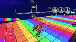 Mario Kart Tour - Para-Wing Kart Gameplay (Peach vs. Daisy Tour Tier Shop Reward)
