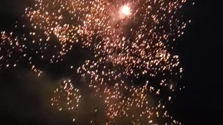 More colorful fireworks