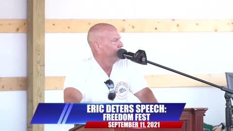 Eric Deters Speech: Freedom Fest | The Bulldog Show
