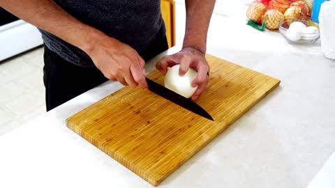 AMAZING Cheesy Onion Rings Recipe
