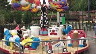 Clown around Carousel Light water Valley