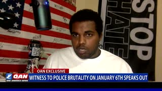 Witness to police brutality on Jan. 6 speaks out