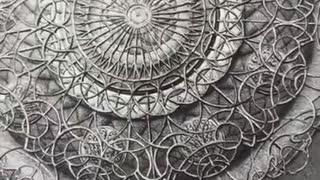 Artist Creates Beautiful Mandala Art