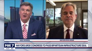 Discussion: Mayor Adler on federal infrastructure plan   FOX 7 Austin