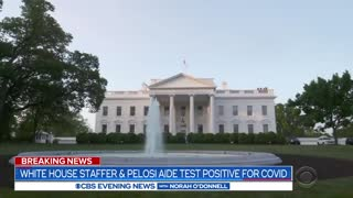 White House staffer and Pelosi aide test positive for COVID