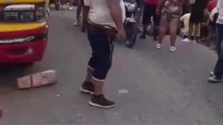 Accidente de tránsito en la vía Zapatoca-Bucaramanga