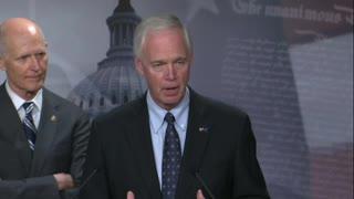 Senator Johnson at GOP Budget Resolution Press Conf. on 8.9