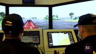 En la ENAP recrean escenarios del mar para embarcaciones