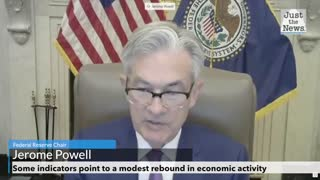 Federal Reserve Chair says indicators point to modest rebound in economic activity
