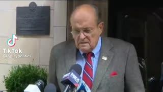 Rudy Giuliani exposing the Biden administration