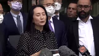 'Two Michaels' freed hours after Huawei CFO's release