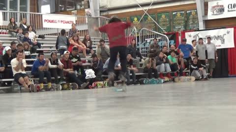 13-year-old prodigy displays unreal freestyle skateboarding skills