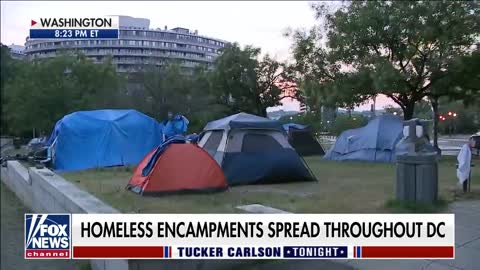 Kevin Corke discuss with Tucker Carlson about Homelessness in Washington DC