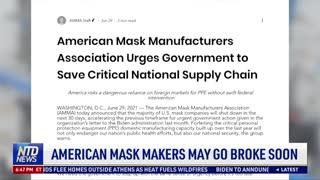 American Mask Makers May Go Broke Soon