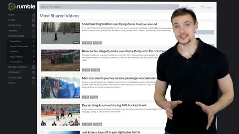 How-to subscribe to channels and discover videos on Rumble
