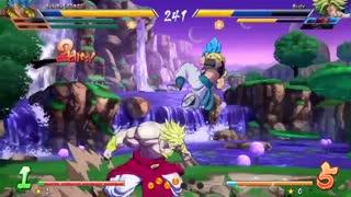 Dragon Ball FighterZ - Gogeta [SSGSS] Gameplay Trailer