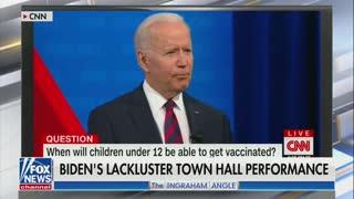 Watch: Joe Biden's CNN Town Hall Was A DISASTER