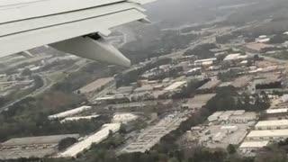 Taking off from Atlanta 3-27-18.
