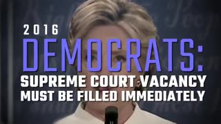 Democrats speak out about chosing a Supreme court Judge in an election year.