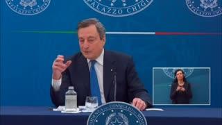 Dovremo continuare a vaccinarci per gli anni a venire -Mario Draghi, 8 Aprile 2021.