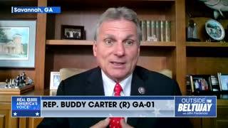 Rep. Buddy Carter Talks About His Visits to The Border vs. Kamala Harris