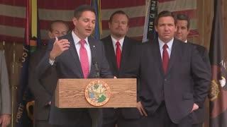 Governor DeSantis Press Conference and Bill Signing for Veteran Bills 6/4/21